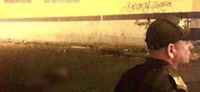 El hombre fue asesinado con arma de fuego en el barrio Alarcón de Bucaramanga.