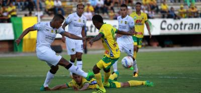 Alianza Petrolera perdió ayer 2-0 en calidad de visitante ante Atlético Huila, en juego que estaba aplazado de la fecha 13 de la Liga Águila II de 2017.