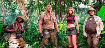 """""""Jumanji: en la selva"""", una nueva entrega llena de aventura"""