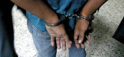El hombre fue arrestado por agentes del CTI y miembros del Ejército.