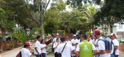 Esta es la segunda asamblea que realiza la Red de Jóvenes de Ambiente.
