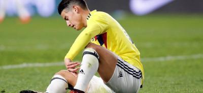 James Rodríguez y Cristian Zapata, bajas de Selección Colombia ante China