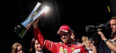 Vettel gana en Interlagos y se queda a un paso del subcampeonato