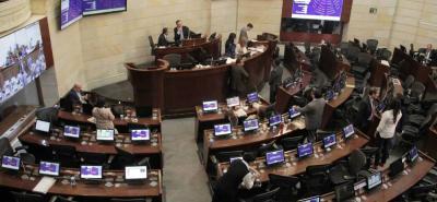 Tras el fallo de la Corte Constitucional, la aprobación de los artículos de la Ley Estatutaria de la JEP se votó en el Senado.