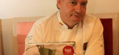 Carlos Gaviria, chef.