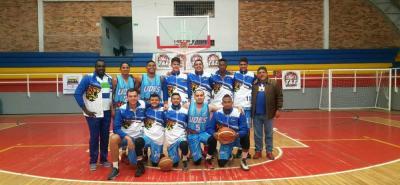 Este es el equipo de New Leopardos - Udes que toma parte de la Copa Élite T&E, torneo Sub 27 de Baloncesto, y que esta noche jugará como local ante Arrieros de Antioquia.
