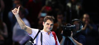 Federer perdió su paso a la final del Masters de Londres