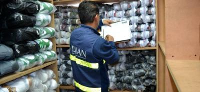 Las acciones realizadas por la Dian en todo el país, permitió recuperar $442.116 en el sector de comercio de autopartes y textiles.