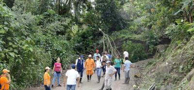 Un derrumbe de grandes proporciones, producto de la activación de una falla geológica, bloqueó la vía principal entre San Vicente de Chucurí y Bucaramanga.