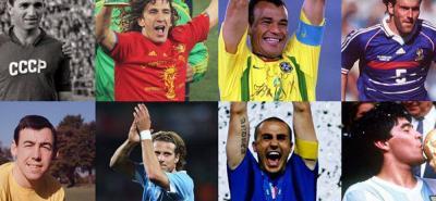 Las leyendas del fútbol que participarán en el sorteo del Mundial de Rusia