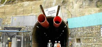 La investigación está vinculada a una presunta infracción por incumplimiento a la normativa ambiental y afectación de recursos naturales en el túnel de exploración minera 'El Gigante'.