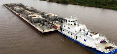 Las navieras que trabajan en el Río Magdalena, operan en un 50% de su capacidad instalada ante la falta de dragado de ese importante afluente.