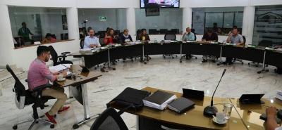 La administración municipal volvió a solicitar garantías para el debate de los proyectos de Acuerdo que se tramitan en el Concejo municipal.
