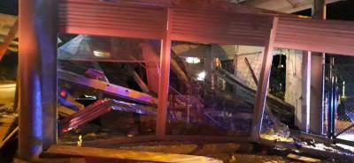 Un muerto y dos heridos en aeropuerto de Barrancabermeja por desplome de una loza