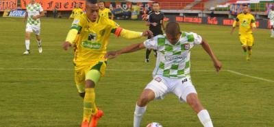 Boyacá Chicó jugará el próximo año en la A tras empatar 1-1 ante Leones y vencerlo 5-3 en los penales durante la final del Torneo Águila.