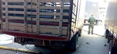Menor murió arrollado por un camión en la Central de Abastos