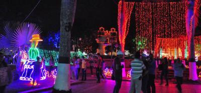 Para el sábado 9 de diciembre está prevista la inauguración del alumbrado navideño en el municpio de Güepsa.