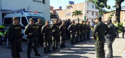 El lanzamiento de 'Plan Navidad Segura' se realizó el ayer, en la Estación de Policía Floridablanca, con la presencia del alcalde Héctor Mantilla y el teniente coronel Ramiro García, comandante del Segundo Distrito de Policía.