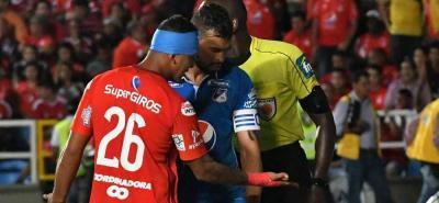 Dimayor investiga agresión durante partido Millonarios-América