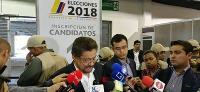 La lista para el Senado por ese partido político la encabezan Iván Márquez y Pablo Catatumbo.