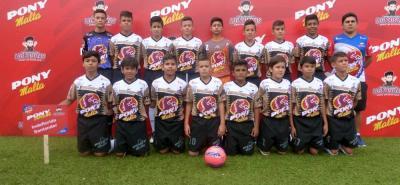 Este es el equipo de Ideflorida, que disputará hoy la final del Zonal Oriente del Pony Fútbol, instancia en la que buscará el cupo a la gran final nacional del Pony Fútbol que se jugará en Medellín en enero.