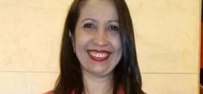 Andrea del Pilar Rosas Ramos, docente galardonada.