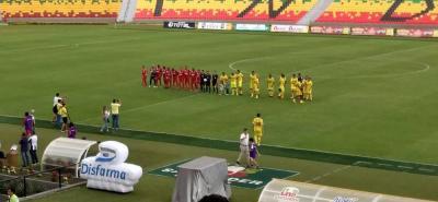 Con un empate 1-1 se revivió la final del 97' entre Bucaramanga y América