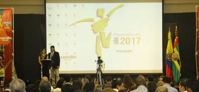 Personalidades del deporte premiadas en la gala del Deportista del Año-Vanguardia Liberal 2016.