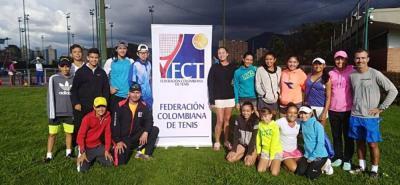 Tres santandereanos convocados a la Gira Suramericana de tenis