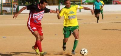 El partido estelar de la jornada inaugural de la Copa de Campeones entre Aguardiante Antioqueño y EDS La Playa se saldó con empate a un tanto.