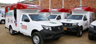11 hospitales de Santander contarán con ambulancias nuevas