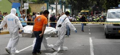 En Bucaramanga, Piedecuesta y Floridablanca disminuyeron los homicidios. En Girón aumentó un 82%.
