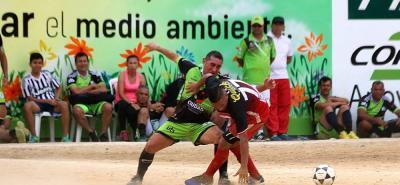 Aguardiente Antioqueño se quedó con el 'clásico' de la segunda fecha de la Copa de Campeones, al superar 2-1 a las UTS con anotaciones de Julián Téllez.