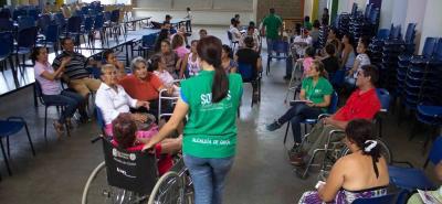 Las personas con discapacidad podrán aprovechar la oferta institucional de la Alcaldía.