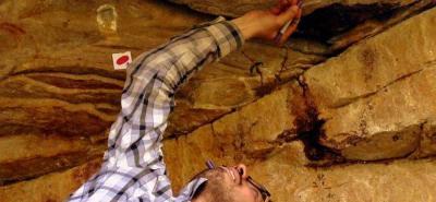 Nuevo descubrimiento de arte rupestre en el Cañón del Chicamocha