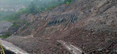 Estudios definirán futuro del sitio del derrumbe en la vía Bucaramanga-Barrancabermeja