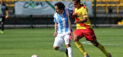 El mediocampista santandereano Daniel Mantilla es uno de los jugadores que gracias a su buen desempeño con el Real Santander pasó a la Primera División, con Patriotas.