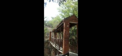 Debajo de este puente peatonal, algunos consumidores de estupefacientes se instalaron. En el lugar pasan niños y residentes de El Poblado y otros sectores.