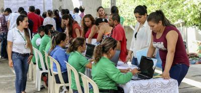 La Oficina Somos Tejido Social ha desarrollado jornadas en los barrios del municipio, para ofrecer los servicios gratuitos a la comunidad.