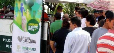 Las autoridades destacaron que quienes paguen con puntualidad recibirán descuentos.
