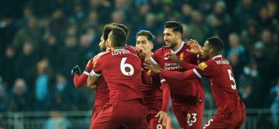 El Liverpool derrotó 4-3 al Manchester City