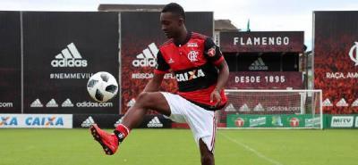 Marlos Moreno fue confirmado como nuevo refuerzo del Flamengo