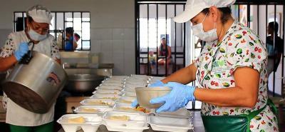 Los almuerzos a bajo costo son una de las estrategias sociales de la Alcaldía del municipio.