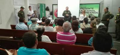 Los directivos de la Policía se encargaron de informar el uso de los frentes de seguridad.