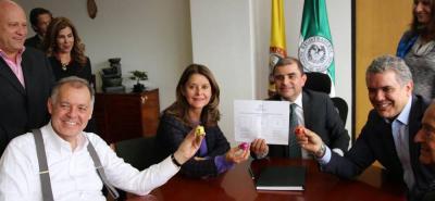 Alejandro Ordóñez, Marta Lucía Ramírez e Iván Duque decidieron ir a consulta interpartidista.
