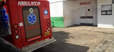 El herido fue auxiliado por Bomberos Voluntarios y trasladado al Hospital Regional del Magdalena Medio.