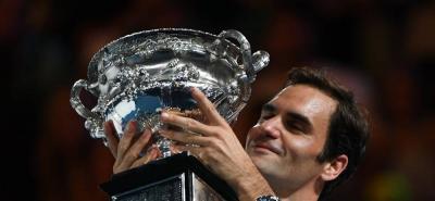 Roger Federer se quedó con el título en el Abierto de Australia