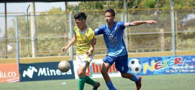 Los más chicos también tuvieron su espacio en el Torneo de la Cancha Marte, que finalizó con los títulos de Nantes, la Sele-cción Santander y Alianza Santander, en sus respectivas categorías.