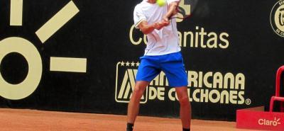 El tenista bumangués Daniel Galán debutará en la Copa Davis en la serie que enfrentarán ante Barbados.