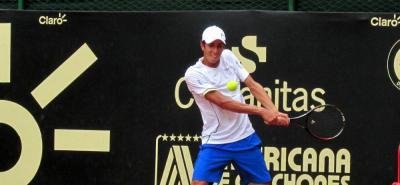 El primer partido del tenista santandereano se jugará este viernes 2 de febrero.